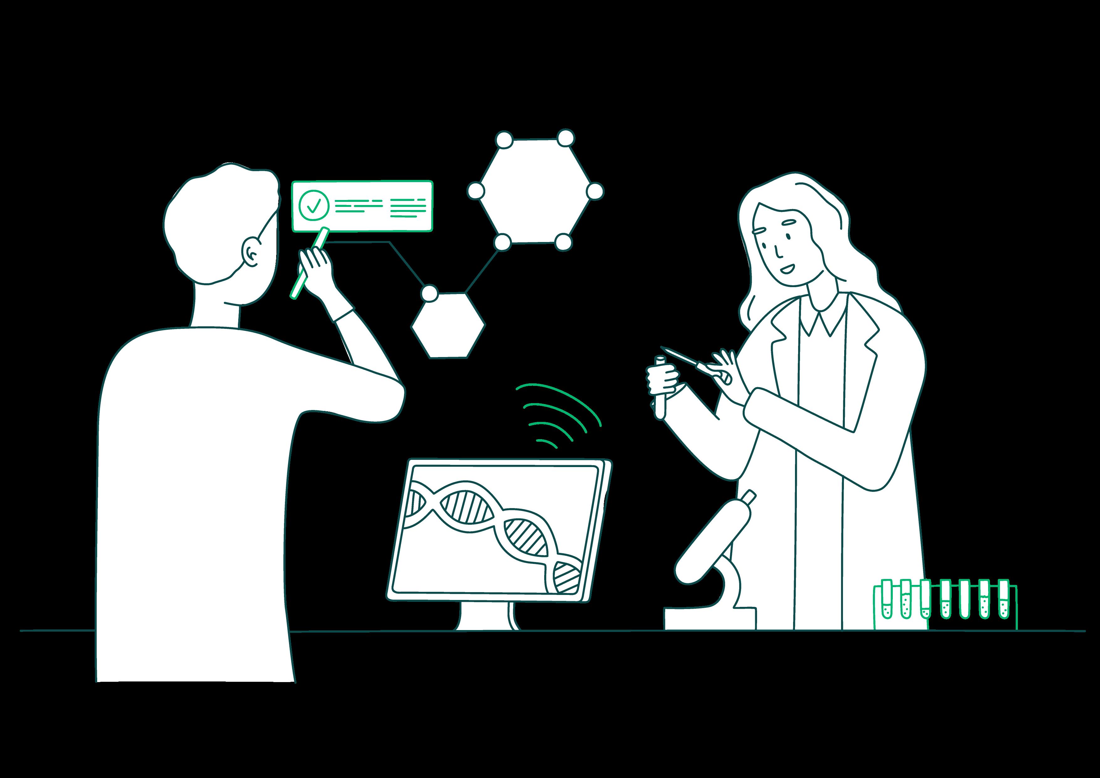 Smart Care Illustration Pharma